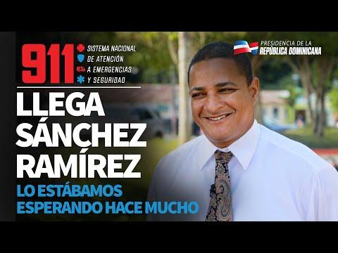 Sánchez Ramírez ya tiene 911. El 84% de nuestra población esta cubierta por este servicio público