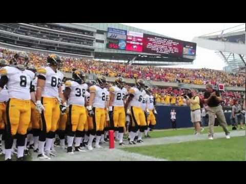Iowa vs. Northern Illinois at Soldier Field - 2012 on YouTube