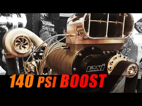 140psi BOOST 3500hp Billet Duramax   Wagler Competition