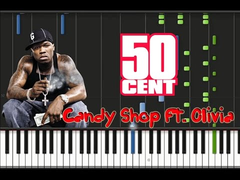 50 Cent - Candy Shop ft. Olivia Piano Cover