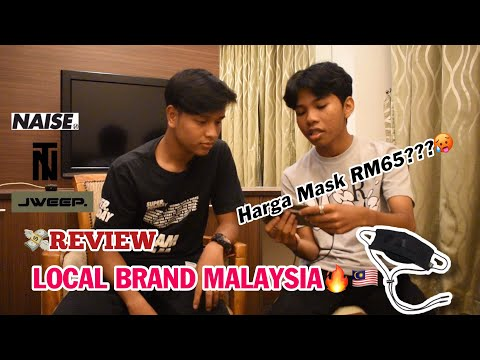 #4 UNBOXING : Review Local Brand MALAYSIA | MASK RM65 ??😱