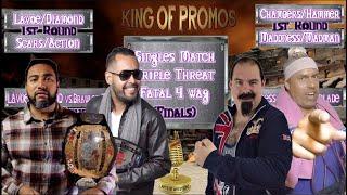 (King Of Promos 2nd Round) Baret Lavoe/Diego Diamond vs. British Brawler/MrFitness (Art Of Survival)
