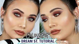 COLOURPOP Dream St Palette Makeup Tutorial