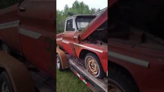 $100 64 chevy c10 parts truck
