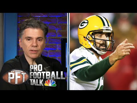 Aaron Rodgers counters Drew Brees' anthem protest criticism | Pro Football Talk | NBC Sports