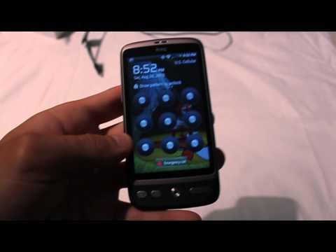 US Cellular- HTC Desire Review