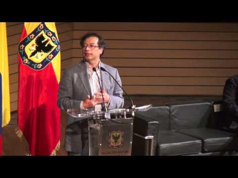 Seminario Segregación y Estratificación, Gustavo Petro, Alcalde Mayor de Bogotá