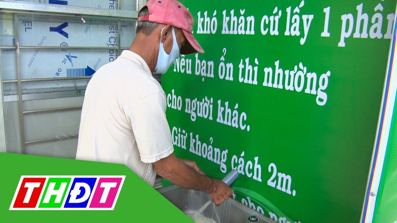Đưa vào sử dụng các cây ATM gạo miễn phí tại Thị xã biên giới | THDT