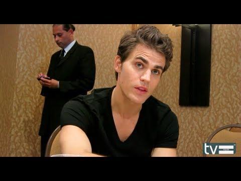 Paul Wesley Interview - The Vampire Diaries Season 6 - YouTube