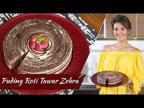 Farah Quinn - Puding Roti Tawar Zebra