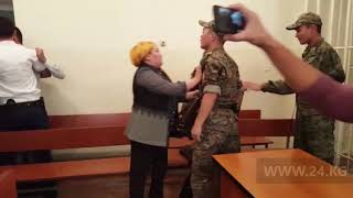 Всуде поубийству Улана Салянова произошла драка