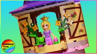 LEGO Toys for Kids | Disney Princess Rapunzel's Creativity Tower with Pascal & Flynn Rider 41054