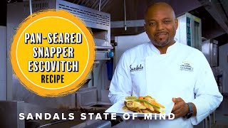 Jamaican Escovitch Snapper Recipe – Sandals State ...