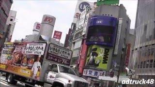 渋谷駅前街頭ビジョンから流れる、堂本 光一 2016年05月11日発売 LIVE D...