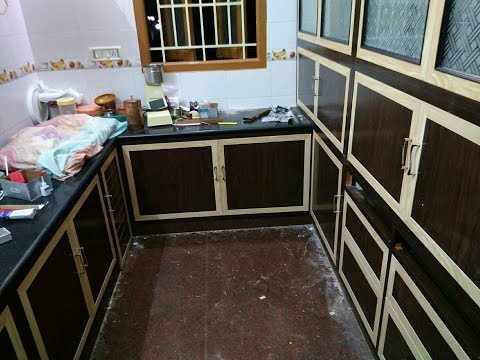 Pvc Modular Kitchen Pvc Kitchen Cabinets 9663000555