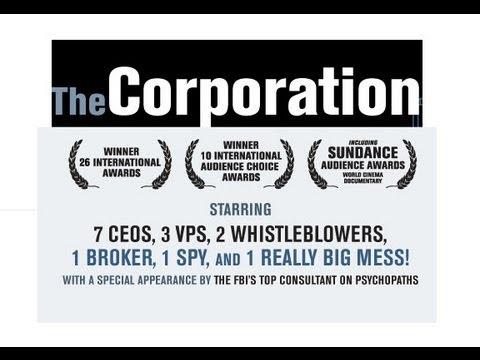 The Corporation - La Corporación instituciones o psicopatas - Español - Pelicula Completa parte 1