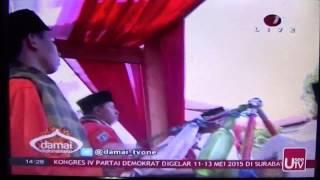DK Percussion - Perdamaian, Damai Indonesiaku  Live TV One Minggu 10 Mei 2015