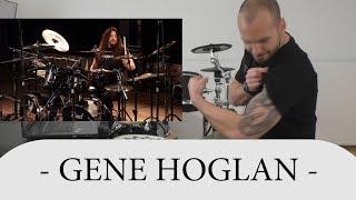 Gambar cover Drum Teacher Reacts To Gene Hoglan