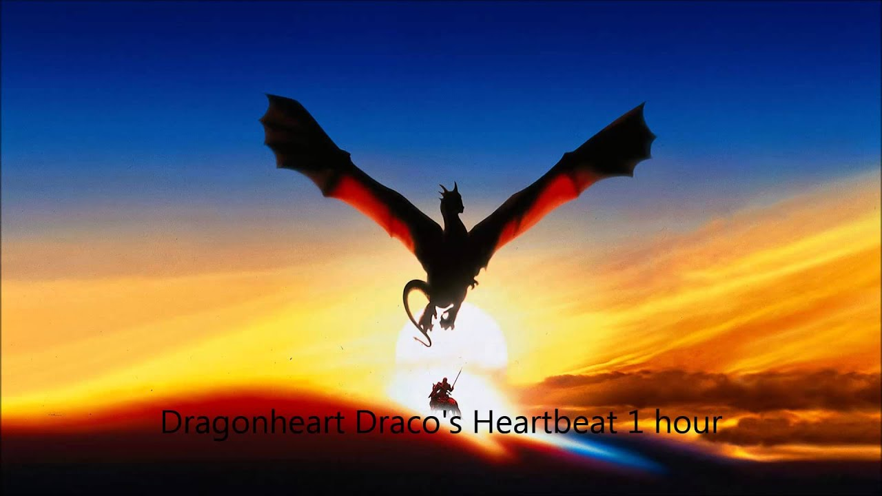 Draco S Heartbeat From Dragonheart 1 Hour Youtube