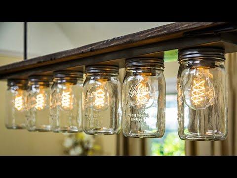 DIY Light Fixture - Home & Family