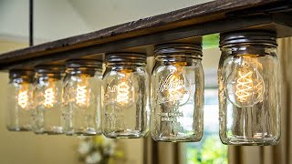 DIY Light Fixture - Home & Family