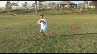 The Best 11 Year-Old Quarterback in the World, Quarterback drills, Technique, Workout
