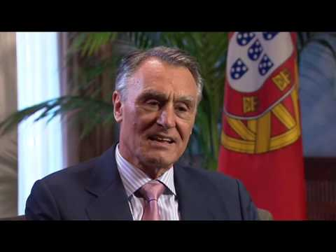 REAL interview with Cavaco Silva