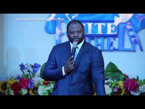 Pasteur Moise Mbiye - Un Nouveau Départ (prédication)