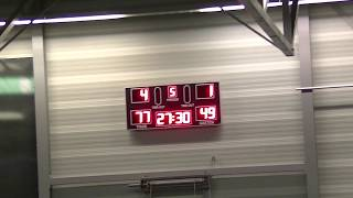 4 november 2017 BV oegstgeest M22 vs Rivertrotters M22 77-49 4th period