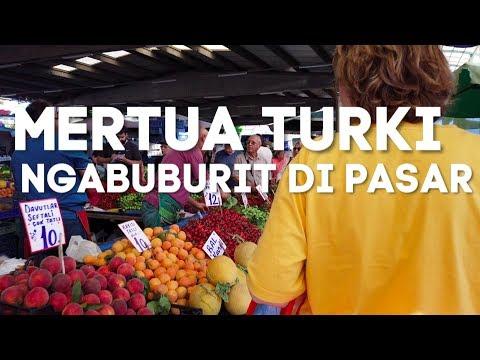 MERTUA TURKI NGABUBURIT DI PASAR| UPDATE HARGA SAYUR MAYUR SUMMER 2019