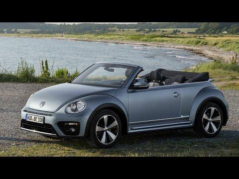 2017 VW Beetle Cabriolet Denim Interior, Exterior and Drive