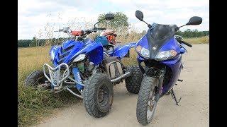 Ja się na tym zabije! Nowy Zakup i co dalej z Motorynką? - Test: Yamaha TZR 80 VS. Romet Ogar