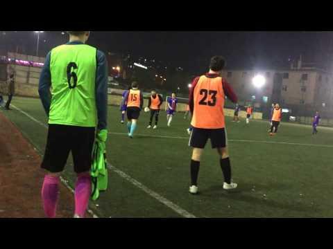 MEF vs KOÇ - Hazırlık Maçı, İlk Yarı. 27.02.2017