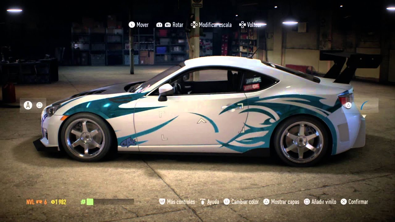 mi primer auto subaru brz need for speed tuning 1. Black Bedroom Furniture Sets. Home Design Ideas
