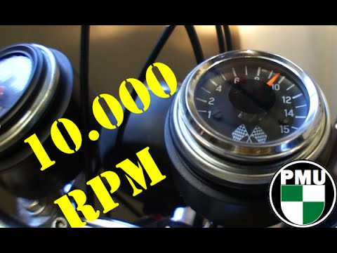 Puch Maxi Drehzahlmesser VDO ... 10.000 RPM :D - YouTube