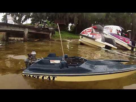 k&b 3.5 offshore cat race boat