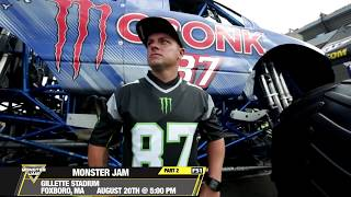 Monster Jam Freestyle in Foxborough 2017   Sunday August 20th on FS1