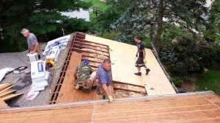 "Mshi "" Gaf Timberline Lifetime Warranty Asphalt Roof Installation & Plywood Replacement"""