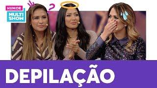 Simone e Simaria abrem o jogo sobre DEPILAÇÃO 😳 | ESQUENTA LADY NIGHT | Humor Multishow