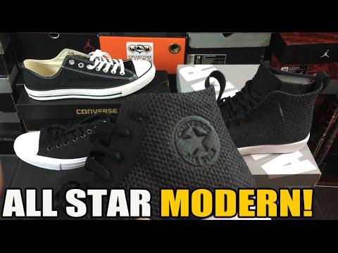8f6b380c1ca4 Unboxing  Converse All Star Modern Review   Comparison   On Feet -  Познавательные и прикольные видеоролики
