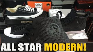 Unboxing: Converse All Star Modern Review / Comparison / On Feet
