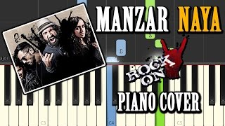 Manzar Naya Rock On 2|Cover Song|Piano Chords Tutorial Lesson Instrumental Karaoke By Ganesh Kini