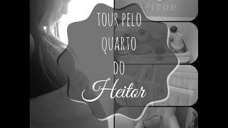 Tour pelo quarto do Heitor