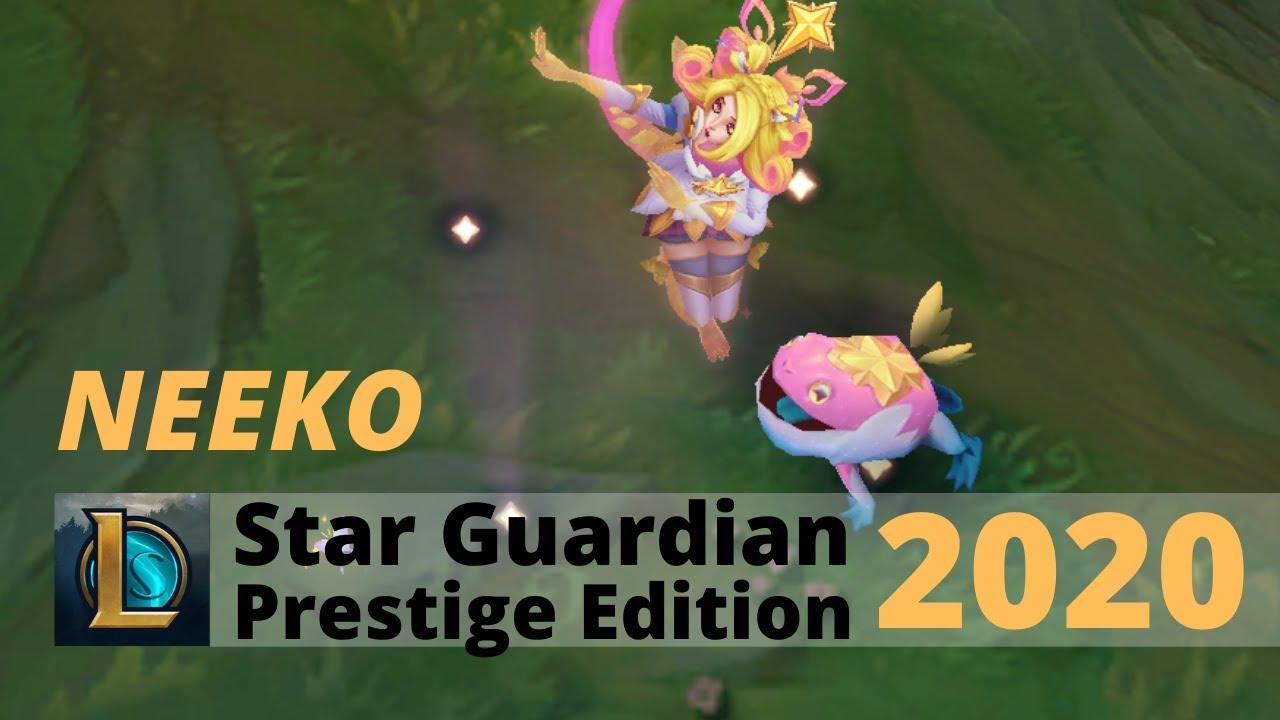 Star Guardian Neeko Prestige Edition 2020 League Of Legends Youtube