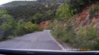 Горная дорога в Греции на Opel Astra J - Трансфагараш отдыхает
