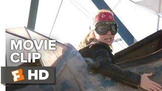 The Space Between Us Movie CLIP - Biplane Runway (2017) - Asa Butterfield Movie