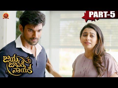 Jaya Janaki Nayaka Full Movie Part  5- Bellamkonda Sai Srinivas, Rakul Preet Singh - Boyapati Srinu
