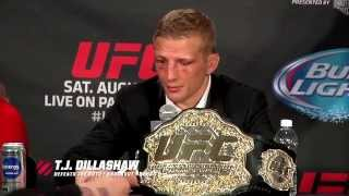 UFC 177: Post-Fight Press Conference Highlight