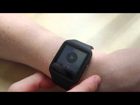 Part 1: Sony SmartWatch 3 useful review, cycling, GPS and playing music