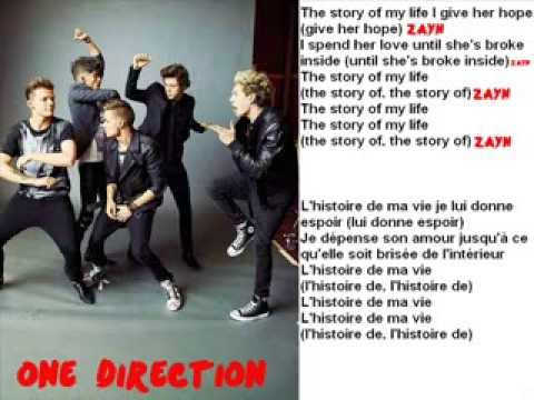 Story of My Life by One Direction - Traduction française ...